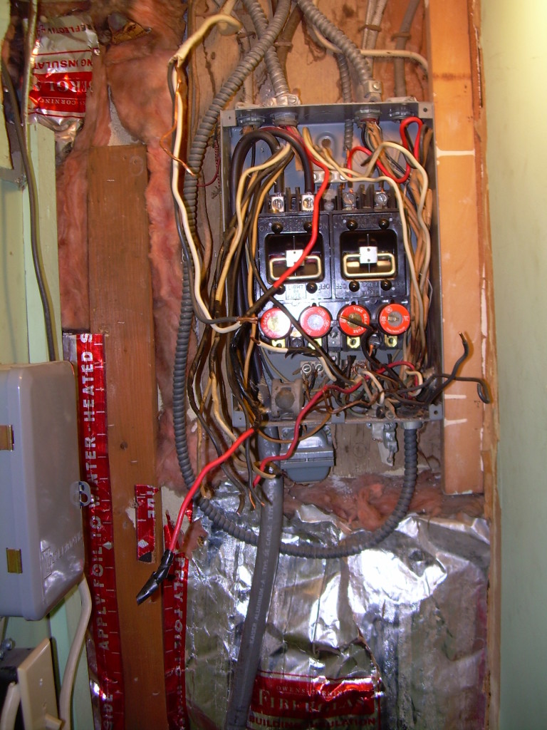 Electrician Pa Stahl Electric Electrical Lighting Projects Circuit Breaker Panel Box Wiring Harness Before Illegally Wired