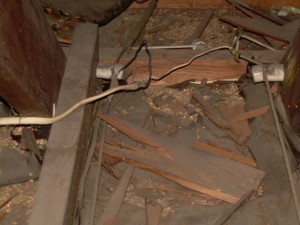 Electrician Pa Stahl Electric Electrical Lighting Projects Wiring Knob And Tube Illegal Splice Onto Covered In Insulation