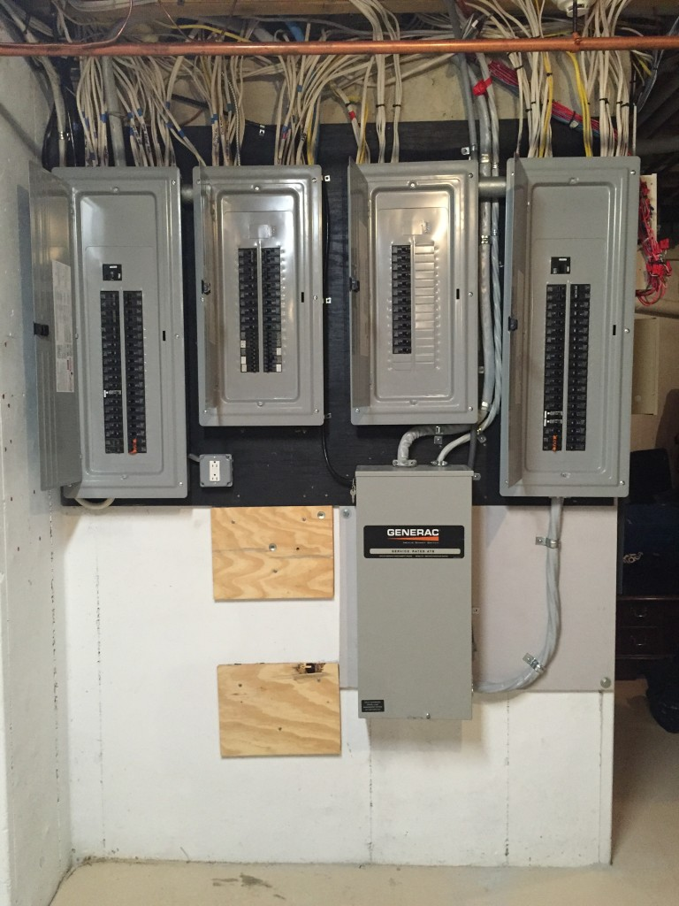 After Finished Breaker Box Completed Up To Code